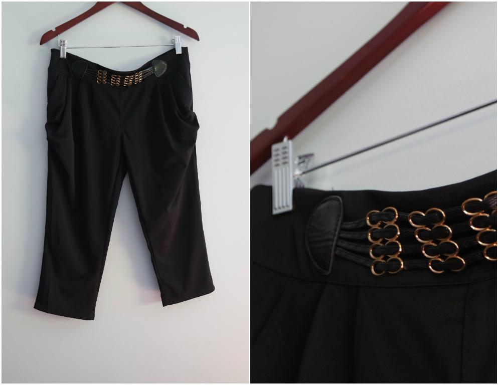 püksid mustavärvi