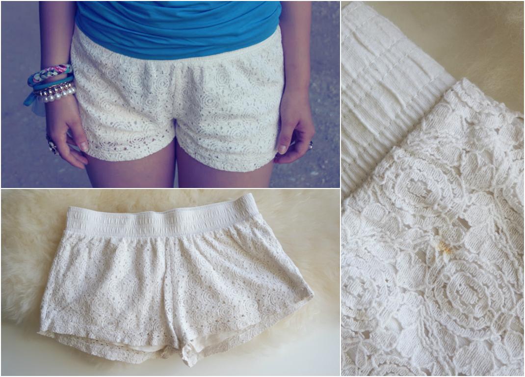 valged püksid